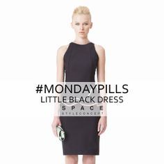 Minimal, versatile and stylish. The Little Black Dress is excellence female item that every woman should have in own wardrobe.  #LittleBlackDress #MondayPills