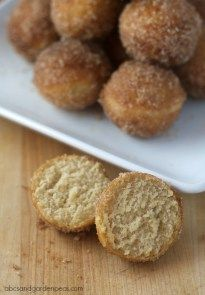 For the BEST Donut Holes, Use Jif Peanut Powder! - ABCs and Garden Peas