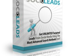 SociLeads Review And Bonus http://flreviews.com/socileads-review-and-bonus/ SociLeads allows you to uncover targeted leads for your business through scouring the one place we all know that REAL people are online - Social Media  Tags: SociLeads, SociLeads software,