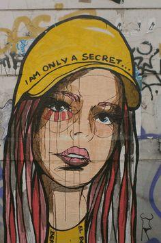#onefaceaday - 212/365 - unknown artist - shot by GrafDal in Hamburg #Schanzenviertel
