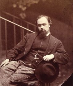 Dante Gabriel Rossetti (1828–1882)  English poet, illustrator, painter and translator
