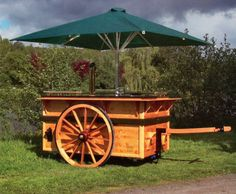 Marktwagen als  Ausschankwagen mit  Zapfanlage -  Ausschankfahrzeug - Bierkühler - Durchlaufkühler