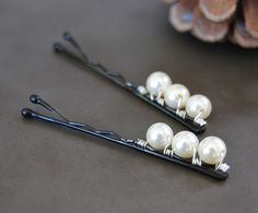 Diy Earrings Easy, Bridal Hair Pins, Wedding Hair, Handmade Wire Jewelry, Metal Hair Clips, Hair Decorations, Making Hair Bows, Diy Headband, Hair Beads