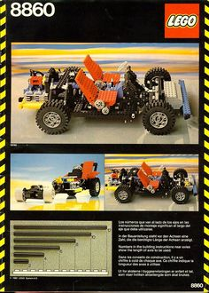Lego Technic Car Chassis (8860)