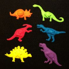 dino shapes - dinos with shapes