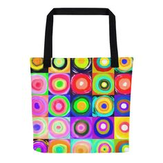 Solar Eclipse Tote Bag - SUN POP - Path of Totality August 21, 2017