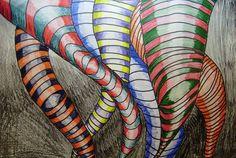 Tornado Tangles: Tiffany2810's art on Artsonia Art ideas for Tornado Twisters Awhina Space