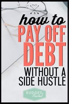Working to pay off debt can feel so frustrating especially if you aren't able to increase your income. If you don't have time to start a side hustle, don't worry! You can still become debt free without a side hustle. This is how. #debtfree #debtpayoff #financialfreedom Ways To Save Money, Money Saving Tips, Money Tips, Budgeting Finances, Budgeting Tips, Cash Envelope System, Thing 1, Budgeting Worksheets, Debt Payoff