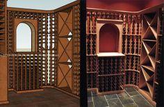 From design to finish wine cellar. We offer free custom design at WineRacks.com