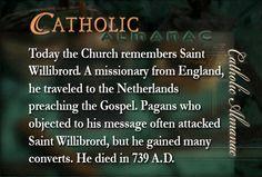 #SaintWillibrord #prayforus #England #Netherlands