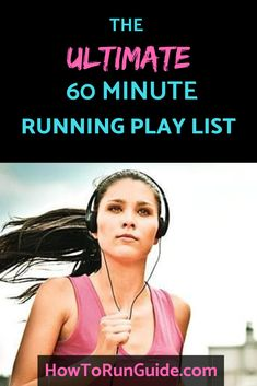 Looking for an upbeat running playlist for your next 60 minute run? We gotcha covered with this ultimate 60 minute running playlist you'll love! This awesome playlist swings a little Alt Rock but also has some DJ Khaled and Pitbull to keep you honest. Running Training, Running Workouts, Running Tips, Running Playlists, Yoga Workouts, Trail Running, Wellness Fitness, Fitness Tips, Health Fitness
