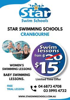 Baby Swimming Lessons, Swim Lessons, Swim School, Schools, Colleges