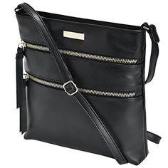 1efade9fd Leather Crossbody Purse for Women- Premium Crossover Cross Body Bag Over  the Shoulder Luxury Womens Purses and Handbags - handbagshaven.com ...