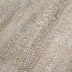 Congoleum Impact 16-Piece 7.25-in x 48-in White Wisp Peel-And-Stick Oak Luxury Vinyl Planks