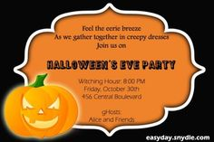 Party: Halloween Party Invitation Wording Is The Best Theme To Forge Your Exceptional Party Invitations 12