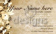 Digital Business Calling Card Elegance Template No 6