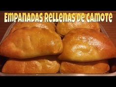 Mexican Pastries, Mexican Sweet Breads, Mexican Bread, Mexican Food Recipes, Sweet Recipes, Pumpkin Empanadas, Empanadas Recipe, Bread Bar, Pan Bread