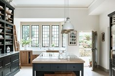 Made-to-measure timber cabinetry for classic and contemporary kitchens. Explore what lies behind a Neptune kitchen online or in-store. Farmhouse Kitchen Inspiration, Modern Farmhouse Kitchens, Cool Kitchens, Kitchen Ideas, Ikea Kitchens, Kitchen Redo, Kitchen Layout, Kitchen Living, Kitchen Stuff