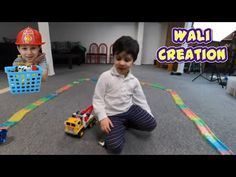 Wali Playing with a lot of Cars on Magic Track Toddler Videos, Kids Videos, Abc Nursery Rhymes, Water Play Mat, Halloween Toys, Wheels On The Bus, School Videos, Toy Trucks, Kids Songs