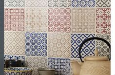 Moroccan Style Patten Tiles