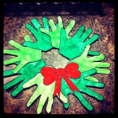 Christmas craft that fun for the kids and easy to make!