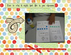dot counting book, use with do a dots.