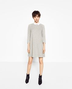 ZARA - COLLECTION SS/17 - POPLIN COLLAR DRESS