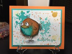Bird Crazy by Tim Holtz. Gorgeous Grunge by Stampin' Up.
