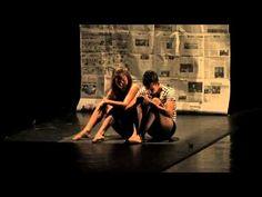 Áthros Danza - De las pequeñas cosas.   Presentación de la Compañía Áthros Danza en el Teatro Pablo de Villavicencio del Instituto Sinaloense de Cultura (ISIC) dentro del 10º Encuentro Internacional de Danza Contemporánea Solistas y Duetos.