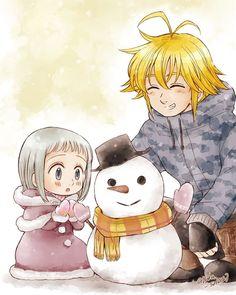yuka en - My shipping - Anime Elizabeth Seven Deadly Sins, Seven Deadly Sins Anime, 7 Deadly Sins, Otaku Anime, Manga Anime, Anime Art, Anime Angel, Sir Meliodas, Meliodas And Elizabeth
