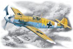 ICM 48105 Bf 109F-4Z/Trop WWII German Fighter