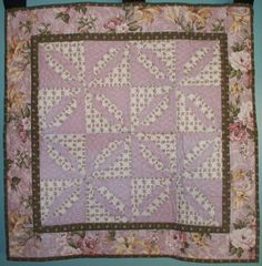 Pink Sparkles wall hanging. This lovely wall hanging by OurQuilts, $50.00