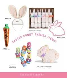 Bunny Party, Papers Co, Easter Bunny, Party Favors, Celebrations, Holidays, Stickers, Blog, Holidays Events
