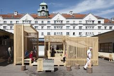 Los mejores proyectos universitarios construidos por nuestros lectores / 2016,Kitchen21 (TU Wien Institute for Architecture and Design). Image © Leonhard Hilzensauer
