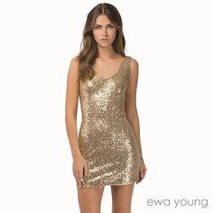 Gold Rush (EY-4048) INR 2400 Fabric : Premium Gold Sequin Lining : Santoon