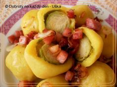 Naše Dobroty na každý den - Kapustičky v bramborovém kabátku. Fruit Salad, Food And Drink, Recipes, Diet, Recipe, Cooking, Fruit Salads, Recipies, Ripped Recipes