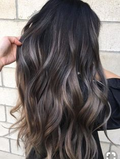 The balayage brunette Hairstyles for the season! Hope they can inspire you and r… - All For Hair Color Balayage Hair Color 2018, Cool Hair Color, Hair Color Ideas For Dark Hair, Hair Color For Dark Skin Tone, 2018 Color, Dark Hair Ideas For Winter, Dye For Dark Hair, Hair Color And Cuts, Color For Curly Hair