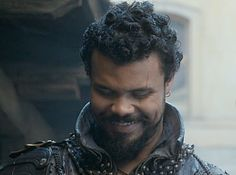 Musketeer fan! — Smiley Porthos is the best Porthos. Source: abbyprincess2 on tumblr