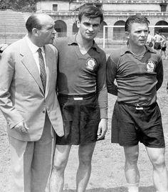 KOCSIS E PUSKAS MILÃO 1956