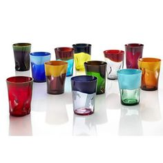 Nason & Moretti, Italy (Murano)    Material: Mouth-blown crystal   Available in: Mixed Set of 12