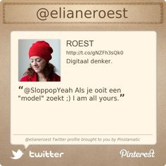 @eliane roest's Twitter profile