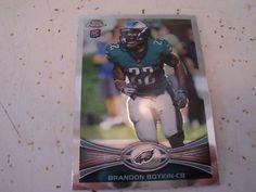 2012 Topps Chrome #36 BRANDON BOYKIN RC Rookie Card Philadelphia Eagles Mint NFL   eBay