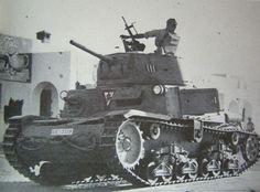 """Italian M13/40 tank -""""Littorio"""" armored division - Tobruk, pin by Paolo Marzioli"""