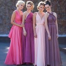 Resultado de imagem para noiva de sapato lilas e madrinhas de lilas