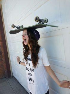 skate-girlz: Skate girl http://skate-girlz.tumblr.com/
