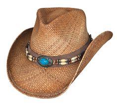 7fb2c41e1c4 Buy Montecarlo Bullhide Hats Forbidden Treasure Western Raffia Straw Cowboy  Hat - and Many Other Latest Designer Hats   Scarves