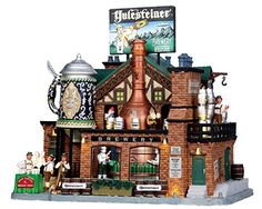 Lemax Village Collection Yulesteiner Brewery with Adaptor # 05073 - http://www.fivedollarmarket.com/lemax-village-collection-yulesteiner-brewery-with-adaptor-05073/