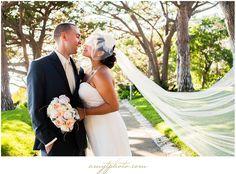 Hair by  Melody- Makeup by Laura-Wayfarers Chapel + Hotel Maya Wedding | Iris + Tommy