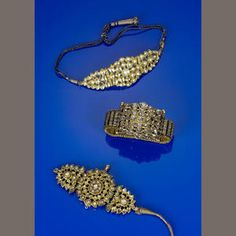 An impressive diamond and ruby-set bracelet South India, early 20th Century