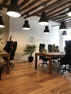 Adjamée Concept x Atawa — Adjamée Real Estate Office, Interior Decorating, Interior Design, Co Working, Office Interiors, Office Decor, Furniture, Paris, Home Decor